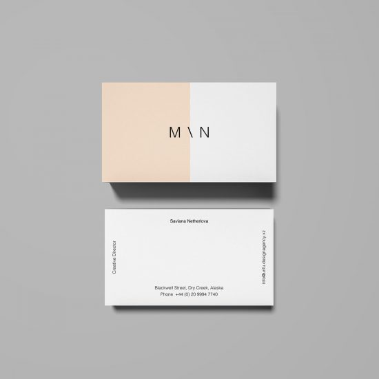 Overhead-Business-Card-Mockup